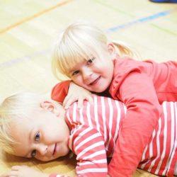 Erster Tag für die neuen SVE-Kinder
